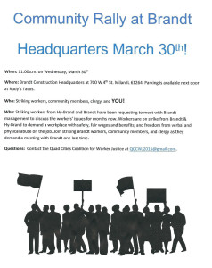 March 30th Rally
